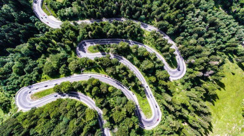Drumuri spectaculoase in Romania